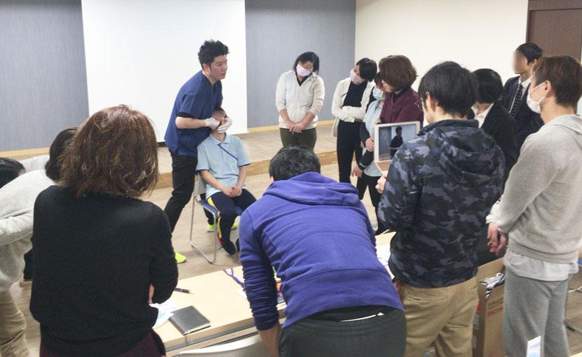 福岡県福津市にて口腔ケア推進コアスタッフ向け初回研修を実施しました。