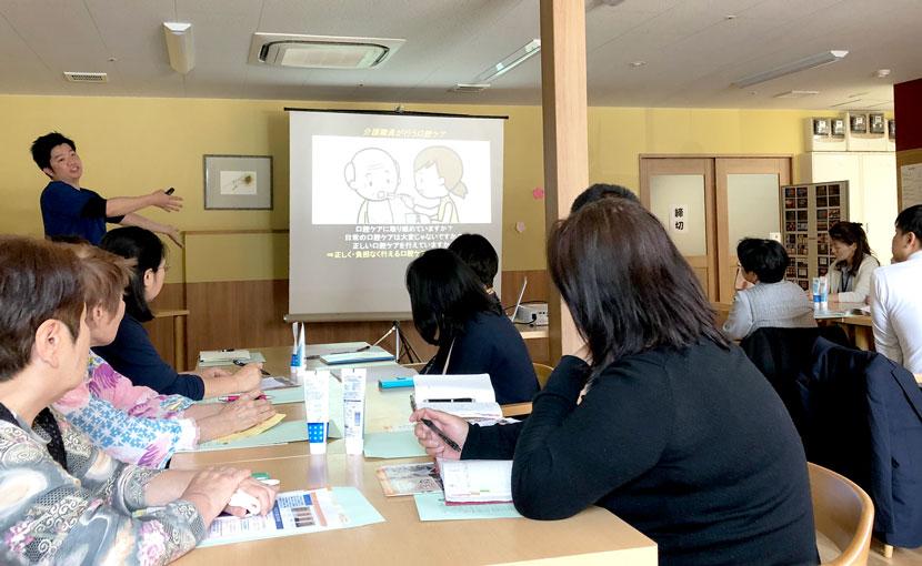【活動報告】4/22熊本県合志市にてケアマネージャーへの研修会を開催しました