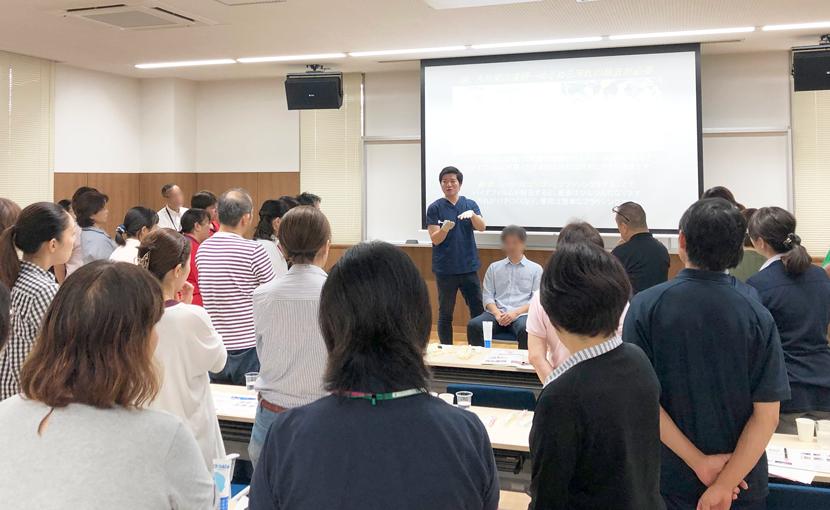 【活動報告】10/3熊本県合志市市役所にて口腔ケア研修会を行いました