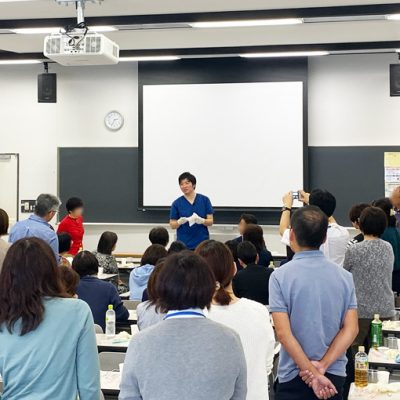 【活動報告】10/26熊本県保健科学大学にてケアマネ向け口腔ケアセミナーを行いました