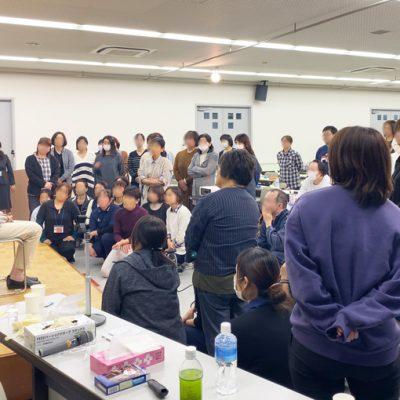 【活動報告】11/12 宮崎県の介護関係者に対し、口腔ケアセミナーを行いました